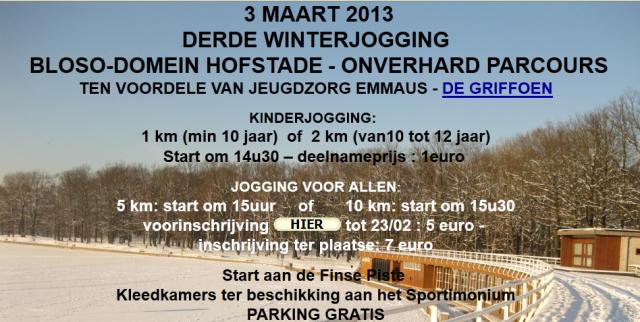 winterjogging hofstade