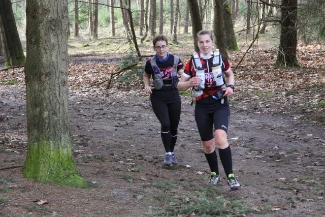 in actie met Heidi, foto genomen door Maurice van den Berge