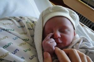 vlak na de geboorte