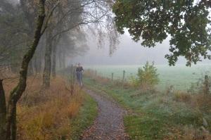 fietsen door natuurpark Zwillbrocker Venn